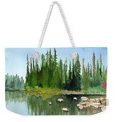 Lake View 1 Weekender Tote Bag