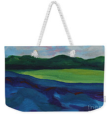 Lake Visit Weekender Tote Bag