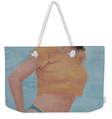 Lake Walk Weekender Tote Bag