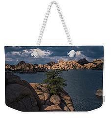 Weekender Tote Bag featuring the photograph Lake Watson Prescott Arizona 2498 by David Haskett