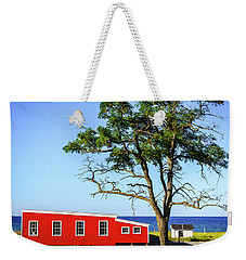 Weekender Tote Bag featuring the photograph Lakefront In Glen Arbor by Alexey Stiop