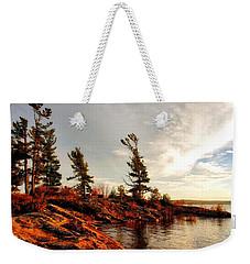 Lakeshore Weekender Tote Bag