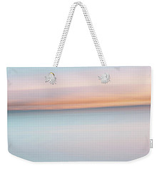 Lakeside Abstract Weekender Tote Bag