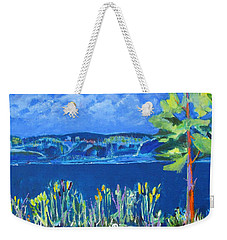 Lakeside Weekender Tote Bag by Betty Pieper