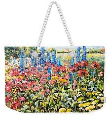 Lakeside Garden Weekender Tote Bag