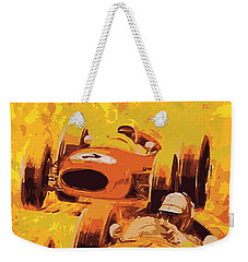 Lakeside Racing Weekender Tote Bag by Gary Grayson