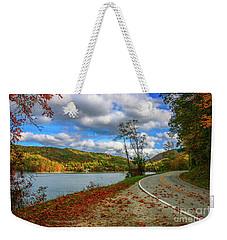 Lakeside Road Weekender Tote Bag