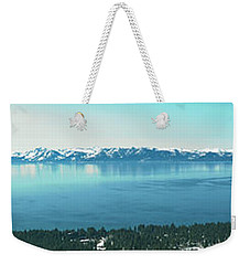 Laketahoe Panorama Weekender Tote Bag
