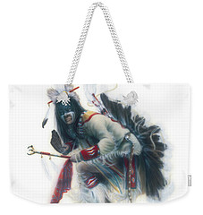 Lakota Dancer Weekender Tote Bag
