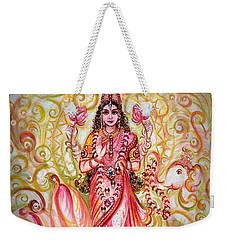 Lakshmi Darshanam Weekender Tote Bag by Harsh Malik
