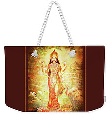 Lakshmi Goddess Of Fortune Weekender Tote Bag