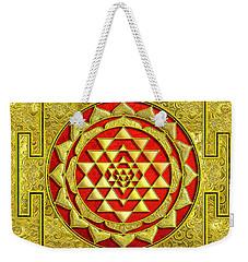 Lakshmi Kubera Yantra Weekender Tote Bag