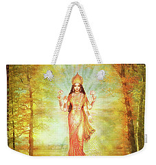 Lakshmi Vision In The Forest  Weekender Tote Bag