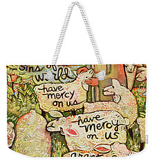 Lamb Of God Weekender Tote Bag