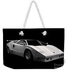Lamborghini Countach 5000 Qv 25th Anniversary Weekender Tote Bag