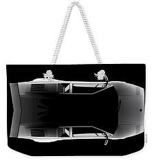 Lamborghini Countach 5000 Qv 25th Anniversary - Top View Weekender Tote Bag