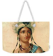 L'amerique 1820 Weekender Tote Bag by Padre Art