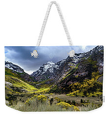 Lamoille Canyon In Fall Weekender Tote Bag
