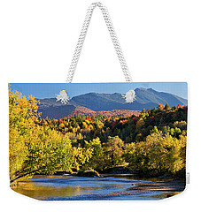 Lamoille River Autumn View Weekender Tote Bag