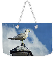 Lamp Post Eddie Weekender Tote Bag