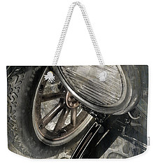 Weekender Tote Bag featuring the photograph Vintage Car #3124 by Andrey  Godyaykin