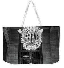 Lamps In Grand Central Station Weekender Tote Bag by Lora Lee Chapman