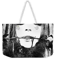 Lana Del Rey Bw Portrait Weekender Tote Bag
