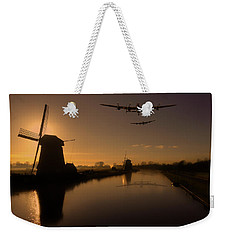 Lancaster Bombers And Dutch Windmills Weekender Tote Bag