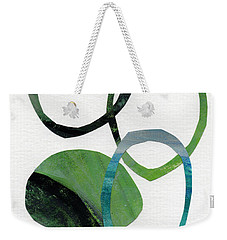 Land And Sea- Abstract Art Weekender Tote Bag