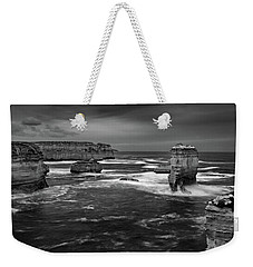 Land And Sea Weekender Tote Bag by Mark Lucey