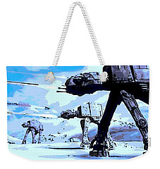 Land Battle Weekender Tote Bag by George Pedro