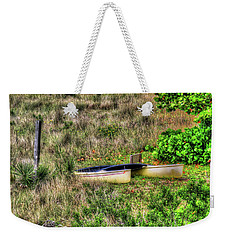 Weekender Tote Bag featuring the photograph Land Locked by Tom Prendergast