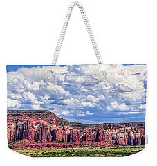 Weekender Tote Bag featuring the photograph Land Of Enchantment by Gina Savage