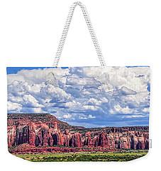 Land Of Enchantment Weekender Tote Bag by Gina Savage