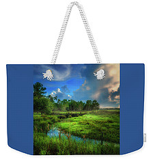 Weekender Tote Bag featuring the photograph Land Of Milk And Honey by Marvin Spates