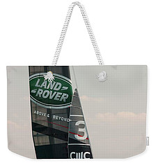 Land Rover Bar Weekender Tote Bag by David Bearden