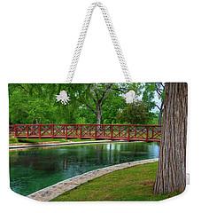 Landa Park Bridge Weekender Tote Bag