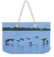 Landing Goose Weekender Tote Bag