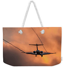 Landing In L.a. Weekender Tote Bag by April Reppucci