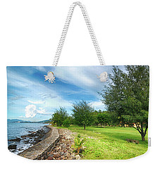 Weekender Tote Bag featuring the photograph Landscape 2 by Charuhas Images