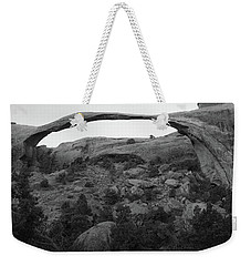 Landscape Arch Weekender Tote Bag by Marie Leslie