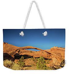 Landscape Arch Sunrise Weekender Tote Bag