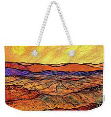 Landscape In Yellow Weekender Tote Bag