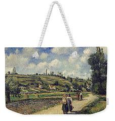 Landscape Near Pontoise Weekender Tote Bag