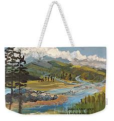 Landscape No._2 Weekender Tote Bag