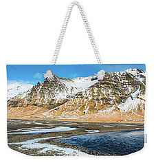 Weekender Tote Bag featuring the photograph Landscape Sudurland South Iceland by Matthias Hauser