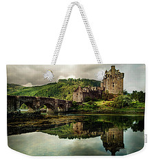 Landscape With An Old Castle Weekender Tote Bag