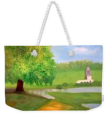 Landscape With Luxuriant Tree And Folly Weekender Tote Bag