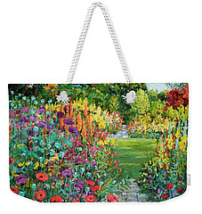 Landscape With Poppies Weekender Tote Bag