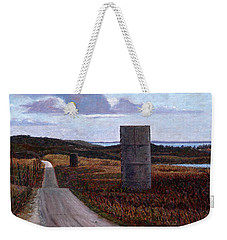 Landscape With Silos Weekender Tote Bag